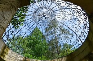 Picture of gazebo roof